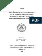 Skripsi Ekonomi Akuntansi