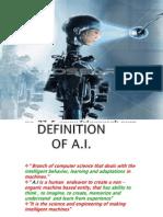 Presentation on AI