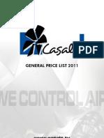 Cassals Ventilatoare PRICELIST2010 En