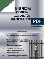 Ley Especial Contra Los Delitos Informaticos Davila Luis