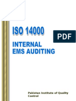 Iso14000 Ems Auditing