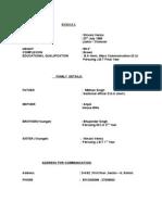Biodata Format For Marriage For Boy In Hindu Pdf