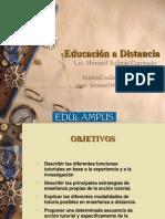 1. Educacion a Distancia e Internet
