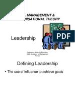 MOB 7 Leadership