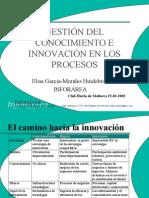 GestiÓn Del Conocimiento e InnovaciÓn en Los Procesos