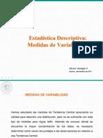 Estadistica Descriptiva - Medidas de Variabilidad