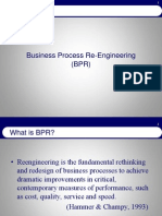 BPR Business Process Re Engineering Ppt
