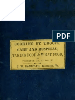 Cooking by Troops, In Camp and Hospital, By Florence Nightingale (1861)