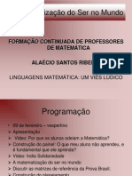 Matemática do ser