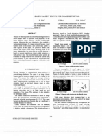 Wavelet-based Salient Points for Image Retrieval
