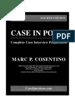 Cosentino - 2005 - Case in Point