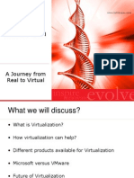 A Jouney to Virtualization