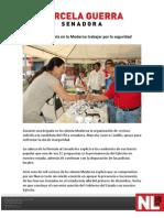15-04-12 Ofrece Marcela en La Moderna Trabajar Por La Seguridad