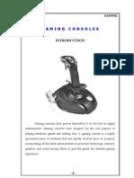 Gaming+Consoles+Seminar+Report