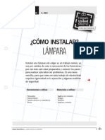 Il-In01 Instalar Lampara