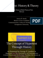 Hypertext Presentation Fall 2010