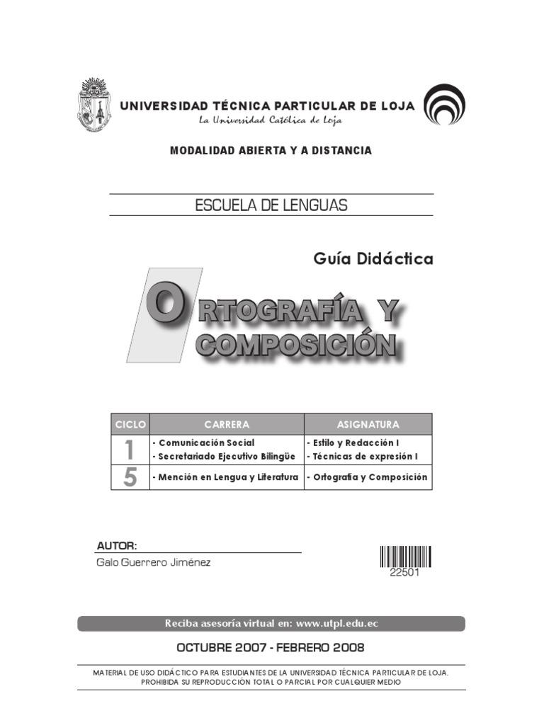 manula+de+ortografia+y+redacción+de+UTPL