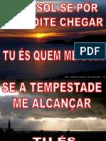 (2) SE O SOL SE PÔR E A NOITE CHEGAR (SOBRE AS ÁGUAS)