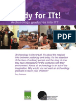 Readyfor ITt  Booklet - Archaeology and Teachers