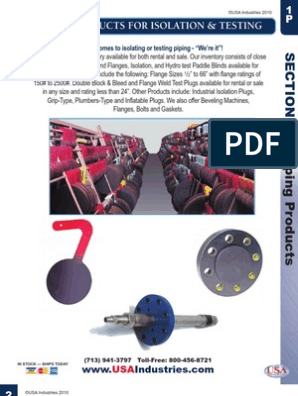 USA Piping Catalog | Pipe (Fluid Conveyance) | Screw