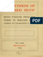 Wisdom of Bernard Shaw