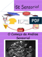 Analise Sensorial!