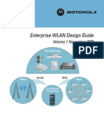Motorola Enterprise WLAN Design Guide (Part No. 72E-117460-01 Rev. a)
