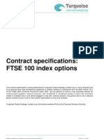 Contract Specification FTSE 100 Options