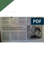 Joan Colomo inaugura el mirallsonor'10 a Tarragona