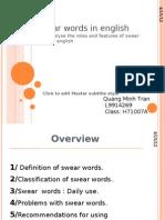 Swear Words in English