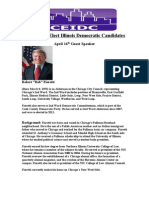 CEIDC April 16th Featured Guest Speaker Alderman Robert Fiorett Bio