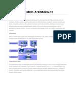 SAP Arictecture