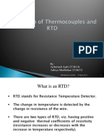 RTD and Thermocouples