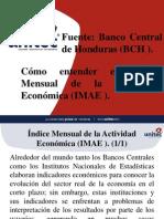 Presentacion de Teoria Economica, IMAE
