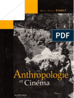 Anthrropologie Et Cinema - Marc Piault (1)