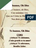 89 Te Loamos, Oh Dios