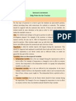 IB Biology Internal Assessment Guide