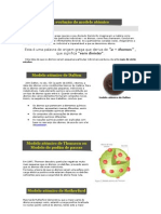 A evolução do modelo atómic1