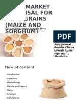 Rapid Market Appraisal for Food Grains
