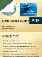 Biometric Iris Technology Final