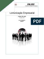 Apostila Comunicação Empresarial - versão 2011 (nova)