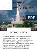 Ballistics Missiles