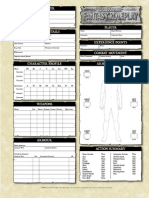 WFRP Character Sheet