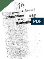 Papus Occultisme Spiritualisme