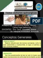 3.-Sutura quirurgicas