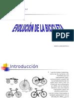 Historia de la Bicicleta en Powerpoint