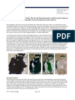 LC Case Study Social and Economic Impacts of Unsustainable Cotton Production