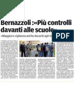 Maggiore vigilanza per scuole e impianti sportivi-Gazzetta di Parma-08/04/12