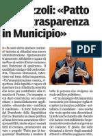 Le nostre idee sulla trasparenza-Gazzetta di Parma- 06/04/12