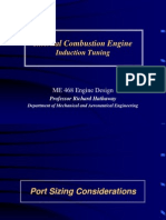 Internal Combustion Engine Induction Tuning